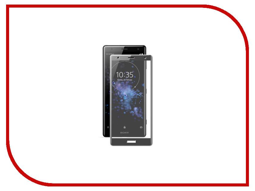 Аксессуар Защитное стекло для Sony Xperia XZ2 Solomon Full Cover Black аксессуар защитное стекло sony xperia m4 aqua solomon