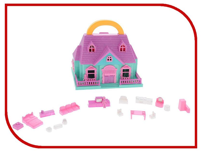 Кукольный домик ABtoys В Гостях у Куклы с аксессуарами PT-00228