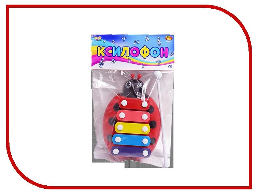 Детский музыкальный инструмент ABtoys Божья коровка D-00053