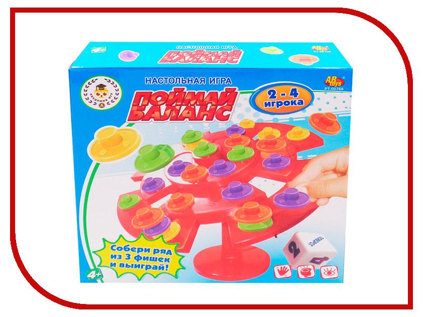 Настольная игра ABtoys Поймай баланс PT-00768 настольная игра abtoys торт в лицо pt 00650