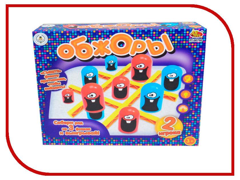 Настольная игра ABtoys Обжоры PT-00790 настольная игра abtoys торт в лицо pt 00650