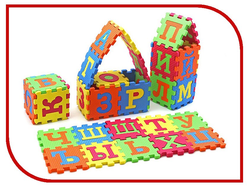 Развивающий коврик ABtoys Буквы PT-00823 цепочки algenda n wz