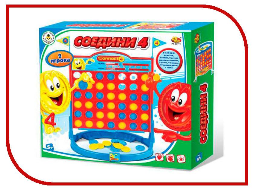 Настольная игра ABtoys Соедини 4 PT-00777 настольная игра abtoys торт в лицо pt 00650