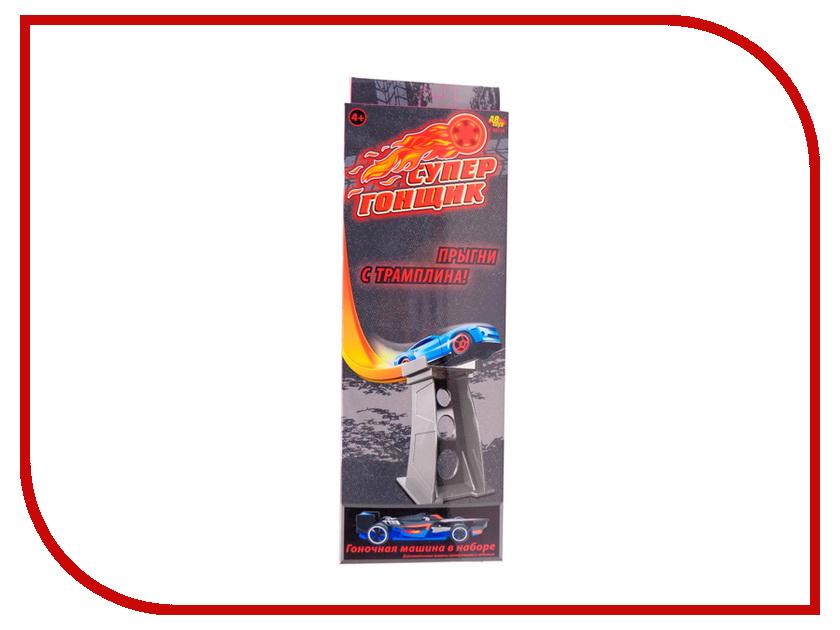 Автотрек ABtoys Супер гонщик - Прыгни с трамплина! C-00214 abtoys железная дорога супер гонщик c 00212