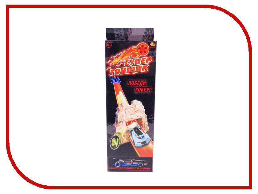 Автотрек ABtoys Супер гонщик - Победи кобру! C-00212 abtoys железная дорога супер гонщик c 00212