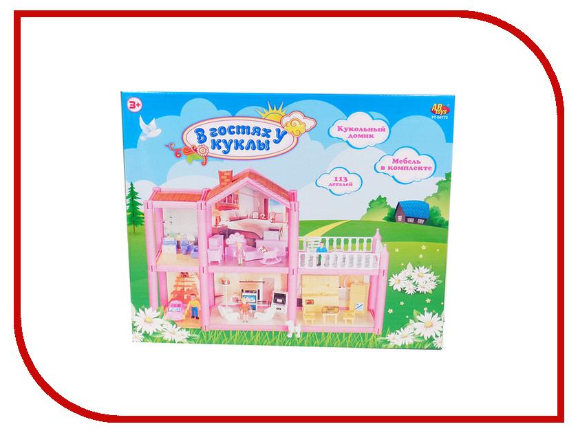 Кукольный домик ABtoys В гостях у куклы PT-00772 игра abtoys калейдоскоп pt 00284