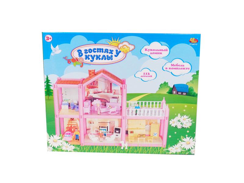 Кукольный домик ABtoys В гостях у куклы PT-00772