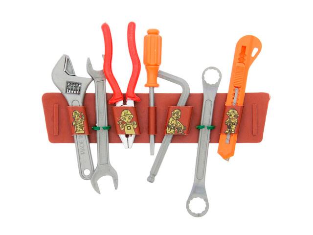Набор инструментов ABtoys Помогаю папе PT-00073 abtoys abtoys детский набор инструментов помогаю папе 8 предметов в чемодане