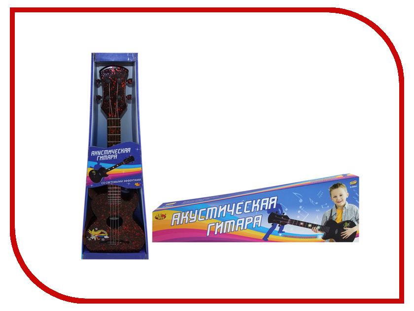 Детский музыкальный инструмент ABtoys Акустическая гитара D-00041