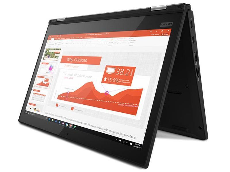 Ноутбук Lenovo ThinkPad L380 Yoga Black 20M7002GRT (Intel Core i3-8130U 2.2 GHz/4096Mb/256Gb SSD/Intel HD Graphics/Wi-Fi/Bluetooth/Cam/13.3/1920x1080/Touchscreen/Windows 10 Home 64-bit)