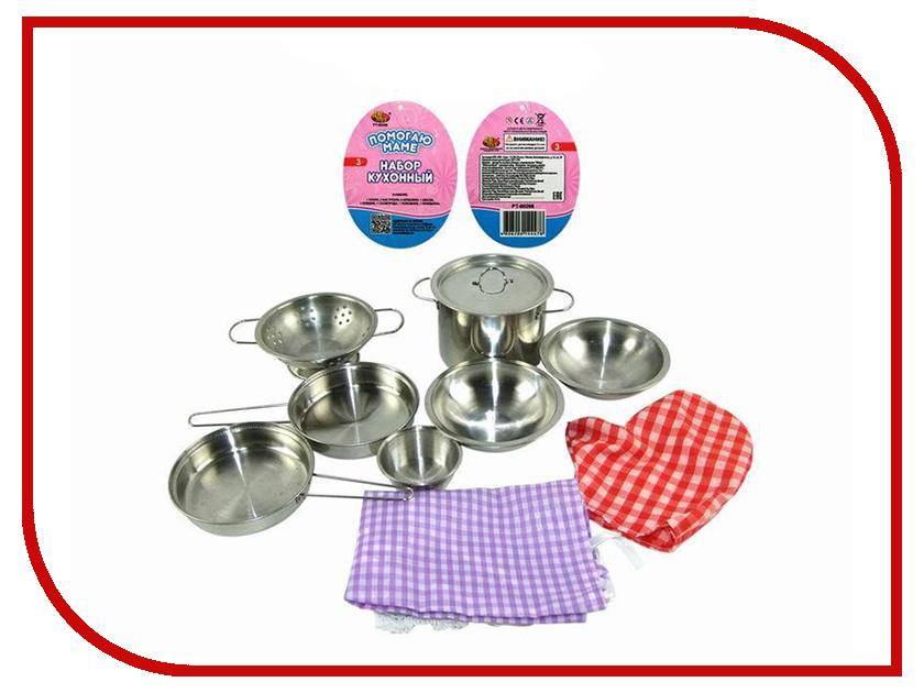 Игра ABtoys Кухонный набор Помогаю маме PT-00266 abtoys помогаю маме кухонная техника эл мех свет звук pt 00665 wk c0310