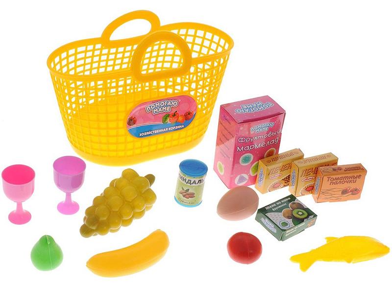 Набор продуктов в корзине ABtoys Помогаю Маме PT-00335 набор продуктов в корзине abtoys помогаю маме pt 00335