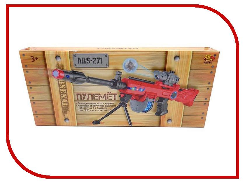 Игрушка ABtoys Пулемет с прицелом ARS-271 abtoys abtoys лук игрушка с прицелом с 3 мя мягкими снарядами