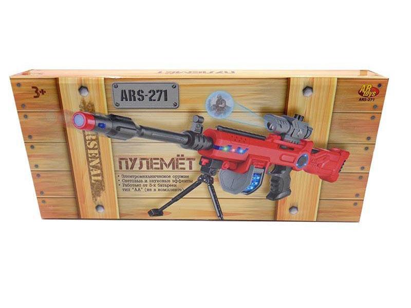 Пулемет ABtoys с прицелом ARS-271