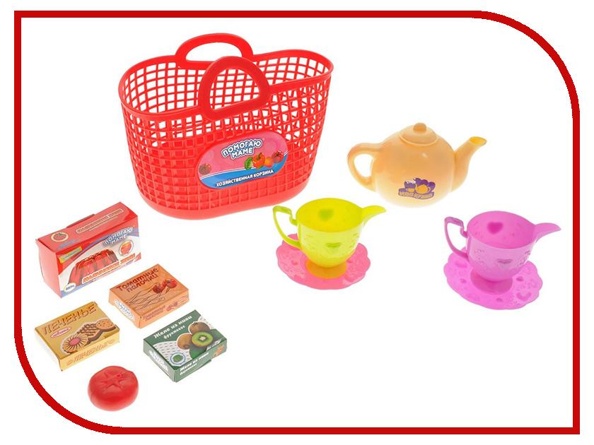 Игра ABtoys Набор посуды в корзине Помогаю Маме PT-00336 настольная игра abtoys торт в лицо pt 00650