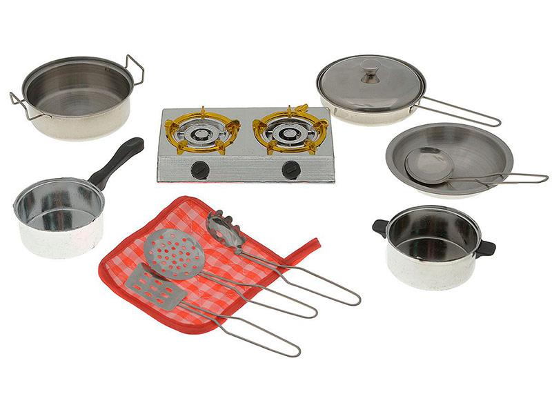 Набор посуды ABtoys Помогаю Маме с плитой PT-00265