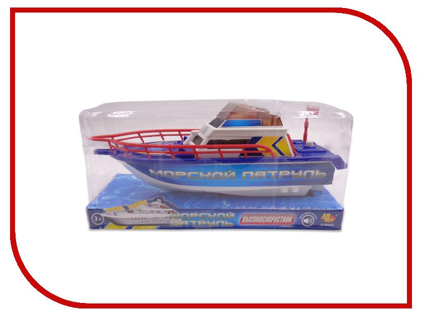 Игрушка ABtoys Катер Морской патруль C-00203 игрушка wow морской патруль сэмми 10322