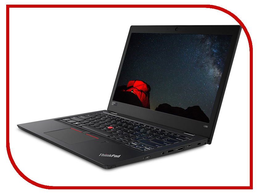 Ноутбук Lenovo ThinkPad L380 Black 20M5001YRT (Intel Core i5-8250U 1.6 GHz/4096Mb/256Gb SSD/Intel HD Graphics/Wi-Fi/Bluetooth/Cam/13.3/1366x768/DOS)