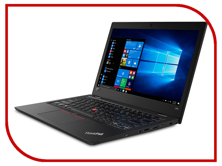 Ноутбук Lenovo ThinkPad L380 Black 20M50013RT (Intel Core i5-8250U 1.6 GHz/8192Mb/256Gb SSD/Intel HD Graphics/Wi-Fi/Bluetooth/Cam/13.3/1920x1080/Windows 10 Pro 64-bit) for lenovo imb thinkpad t61 laptop motherboard mainboard fru 42w7652 15 4 with non integrated graphics card 100