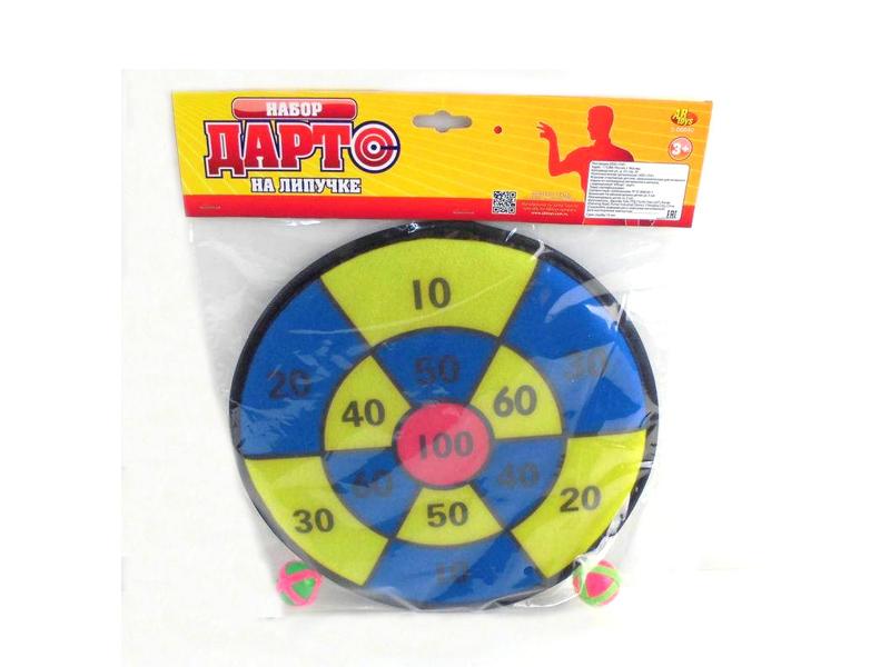 Игрушка ABtoys Дартс на липучке S-00040 игрушка amico дартс slw9784