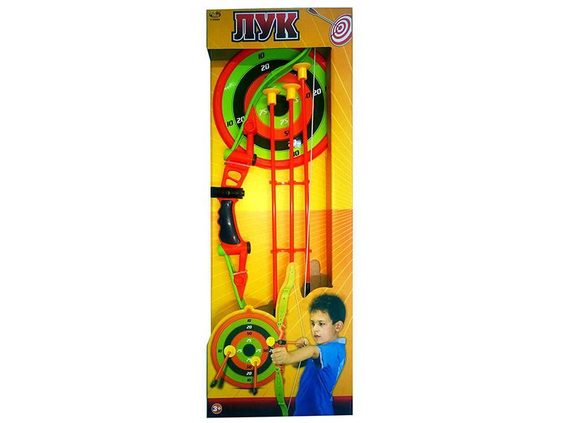 Лук ABtoys со стрелами и мишенью S-00060
