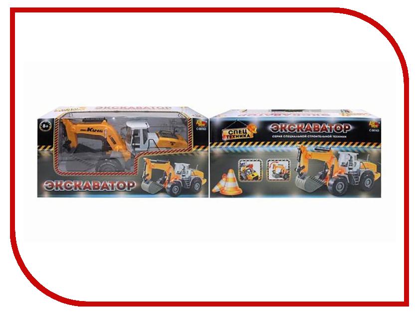 Игрушка ABtoys Экскаватор C-00163 abtoys конструктор металлический abtoys экскаватор и подъемник 132 детали pt 00163 3002