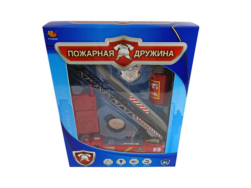 Игрушка ABtoys Пожарная дружина PT-00348