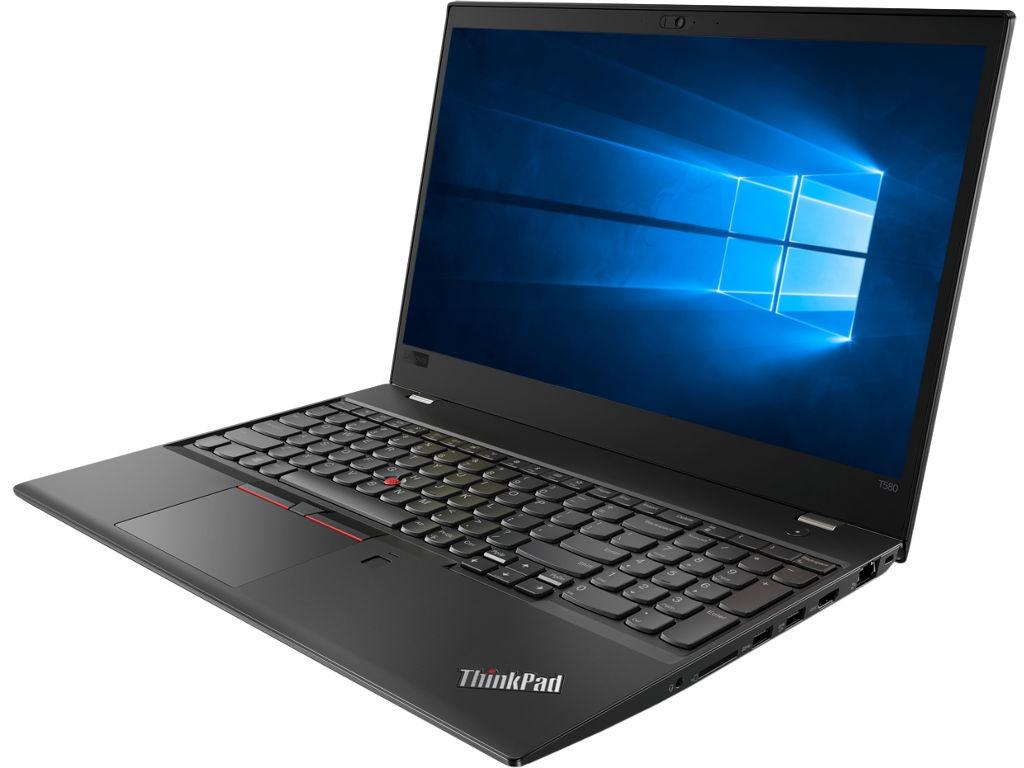 Ноутбук Lenovo ThinkPad T580 Black 20L9001YRT (Intel Core i5-8250U 1.6 GHz/8192Mb/256Gb SSD/Intel HD Graphics/Wi-Fi/Bluetooth/Cam/15.6/1920x1080/Windows 10 Pro 64-bit)
