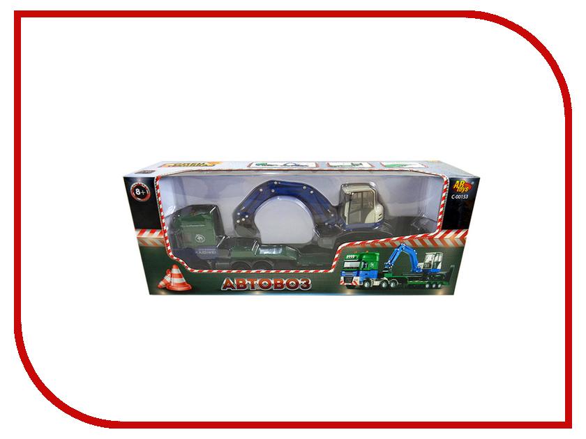 Игрушка ABtoys Автовоз с экскаватором C-00153