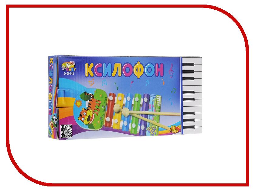 Детский музыкальный инструмент ABtoys Ксилофон D-00042