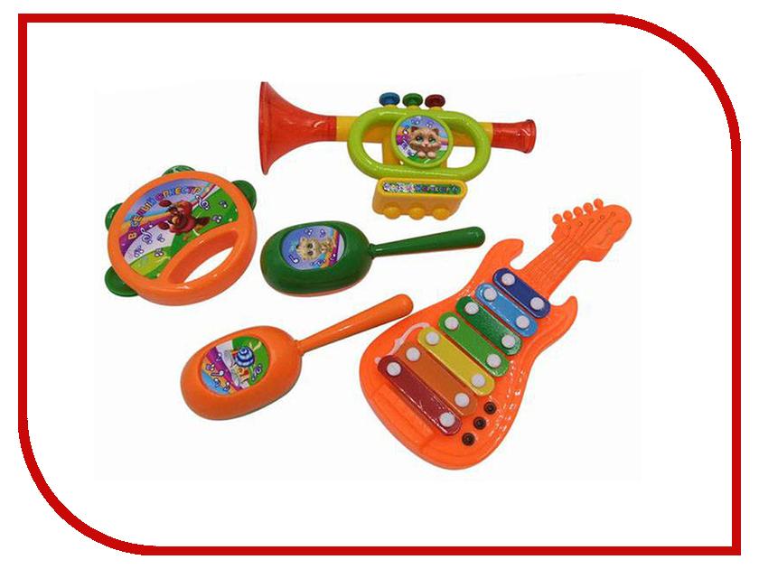 Детский музыкальный инструмент ABtoys Веселый оркестр D-00046