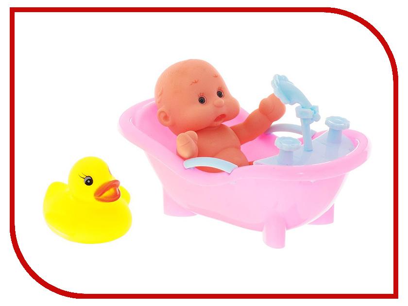 Кукла ABtoys Набор для купания пупса Карапузики PT-00428