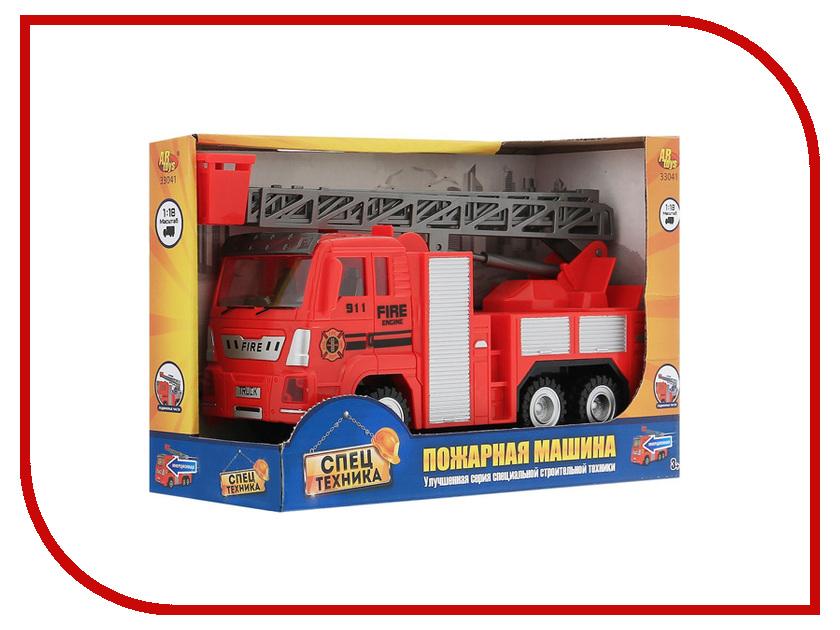 Игрушка ABtoys Спецтехника - Пожарная машина 33041 toystate машина спецслужба пожарная