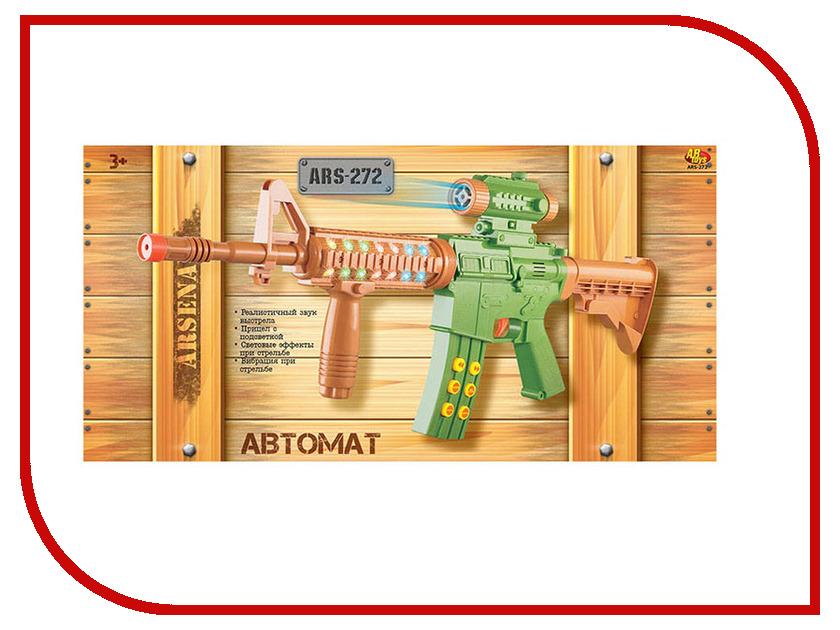 Игрушка ABtoys Автомат с прицелом ARS-272 abtoys abtoys лук игрушка с прицелом с 3 мя мягкими снарядами