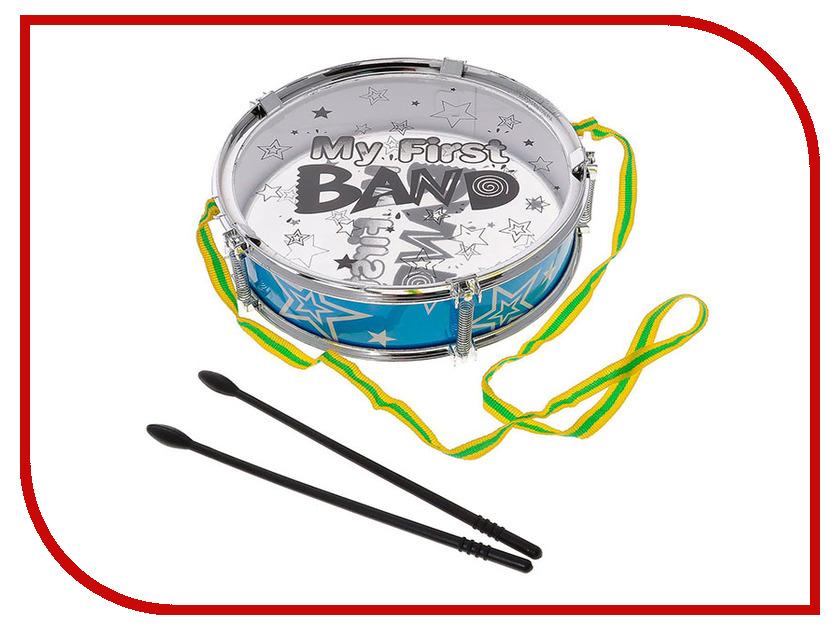 Детский музыкальный инструмент ABtoys Барабан My First Band D-00050 my first encyclopedia