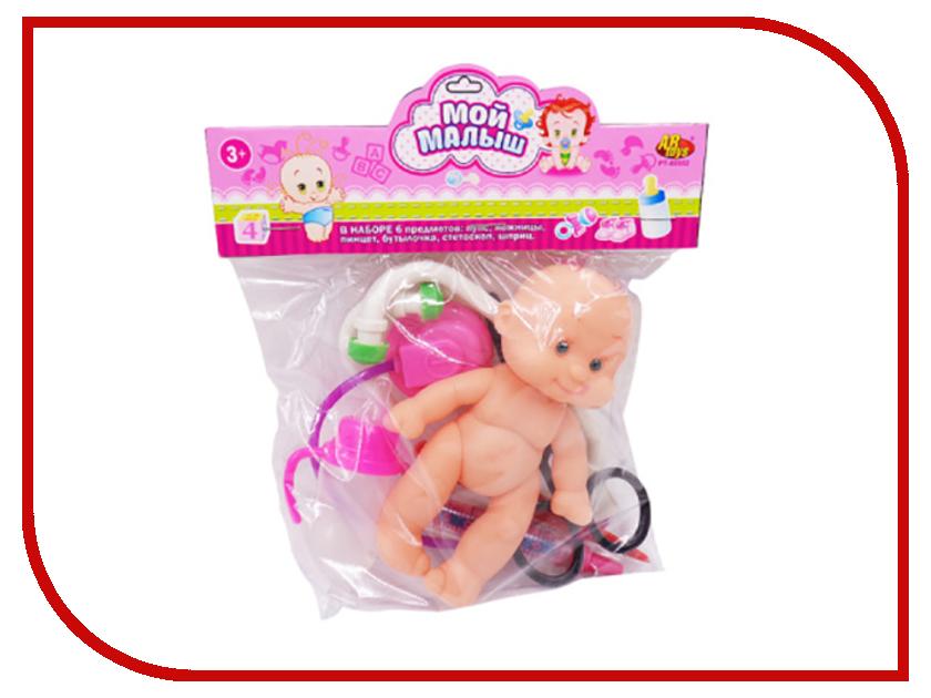 Кукла ABtoys Мой малыш с аксессуарами PT-00552 varta varta electronics lr44 1