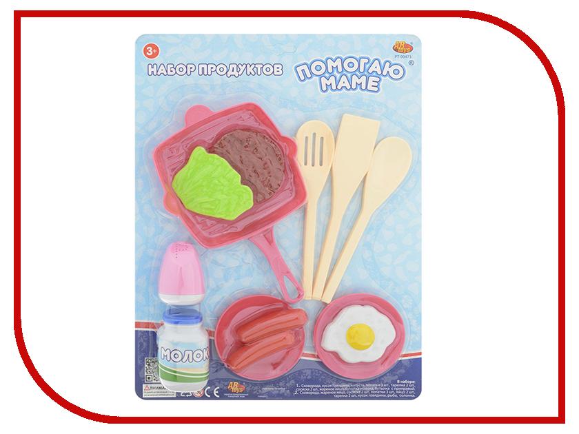 Игра ABtoys Набор посуды и продуктов Помогаю маме PT-00473