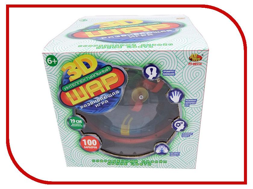 Головоломка ABtoys Интеллектуальный шар 3D PT-00554 головоломка судоку шар icosoku