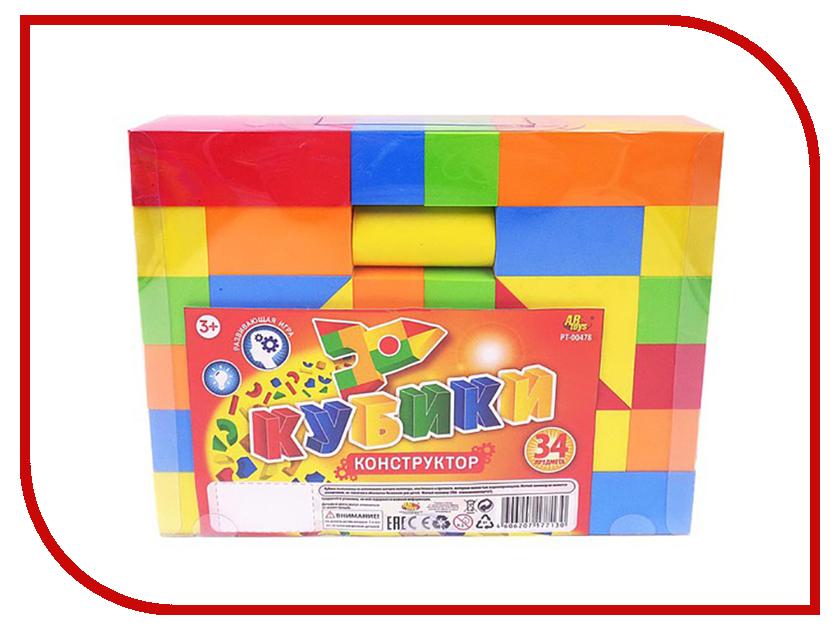 Кубики ABtoys 34 дет. PT-00478 кубики abtoys 34 дет pt 00478