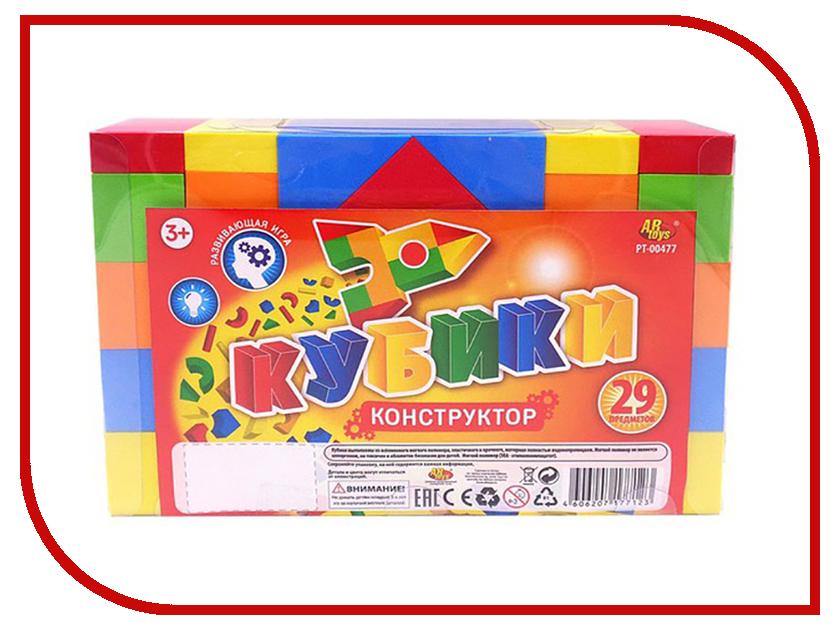 Кубики ABtoys 29 дет. PT-00477 кубики мди