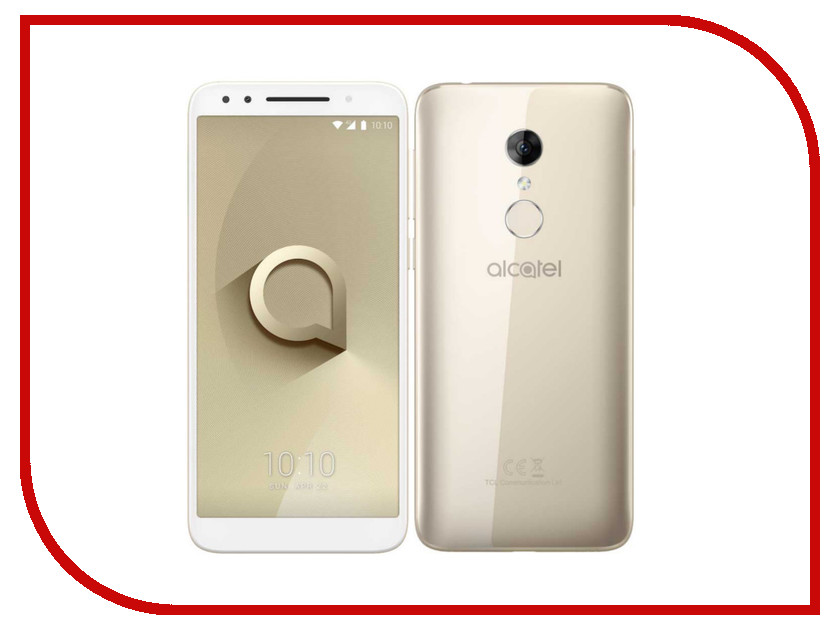 Сотовый телефон Alcatel 3 5052D Gold alcatel one touch 6039y idol 3 mini grey