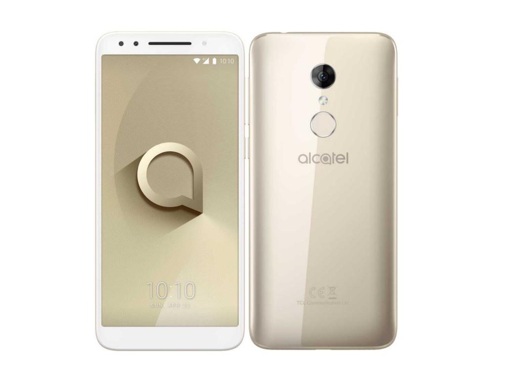 Сотовый телефон Alcatel 3 5052D Gold