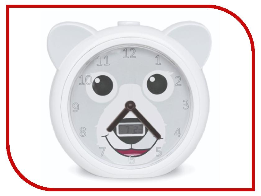 Часы Zazu Медвежонок Бобби White ZA-BOBBY-01 - будильник для тренировки сна бобби джейспер bobby jaspar bobby jaspar s new jazz