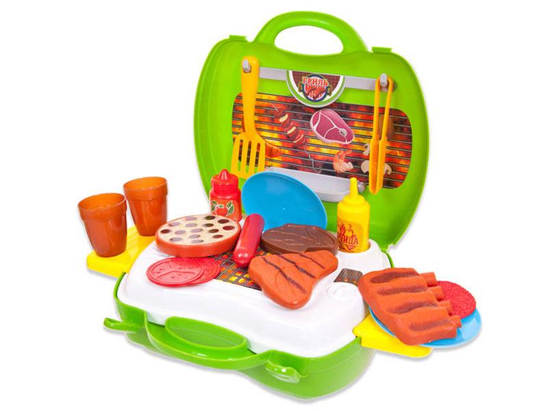Игровой набор ABtoys Чудо-чемоданчик - Гриль PT-00459