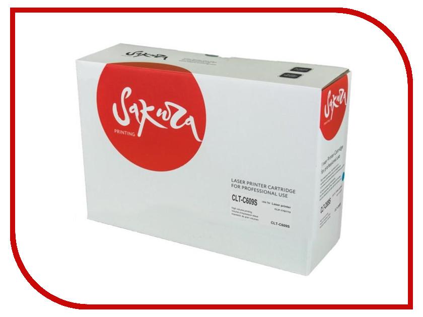 Картридж Sakura CLT-C609S SACLTC609S для Samsung CLP-770/ CLP-770ND / CLP-775 409 4 x 1kg bag refill laser color toner powder kits kit for samsung clt 409 clt 407 clp 300 clp 350 clp 500 clp 660 printer