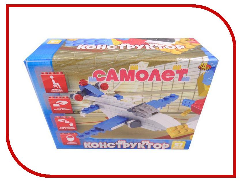 Конструктор ABtoys Самолет 57 дет. PT-00443 конструктор самолет heros конструктор самолет