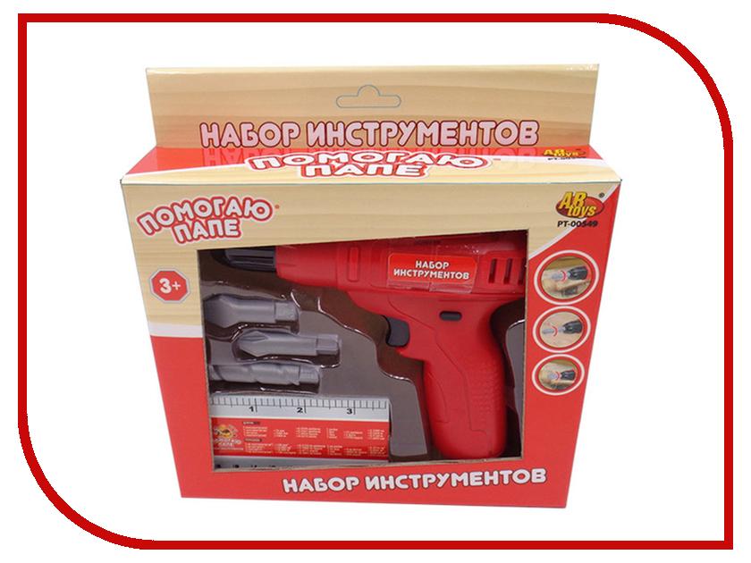 Игра ABtoys Набор инструментов Помогаю папе PT-00549 игра yako набор инструментов y12481096