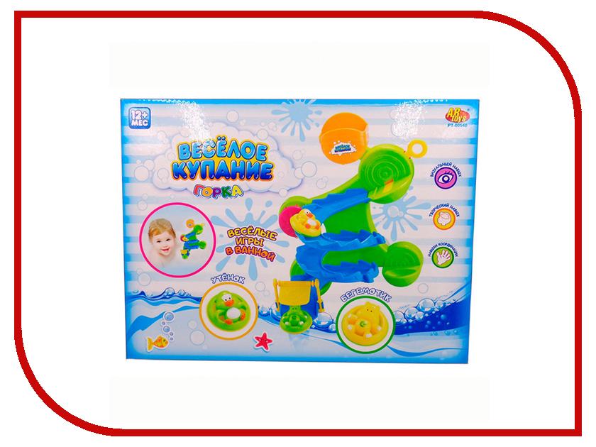 Игрушка ABtoys Веселое купание Горка PT-00540 игрушка abtoys веселое купание катер брызгалка pt 00518