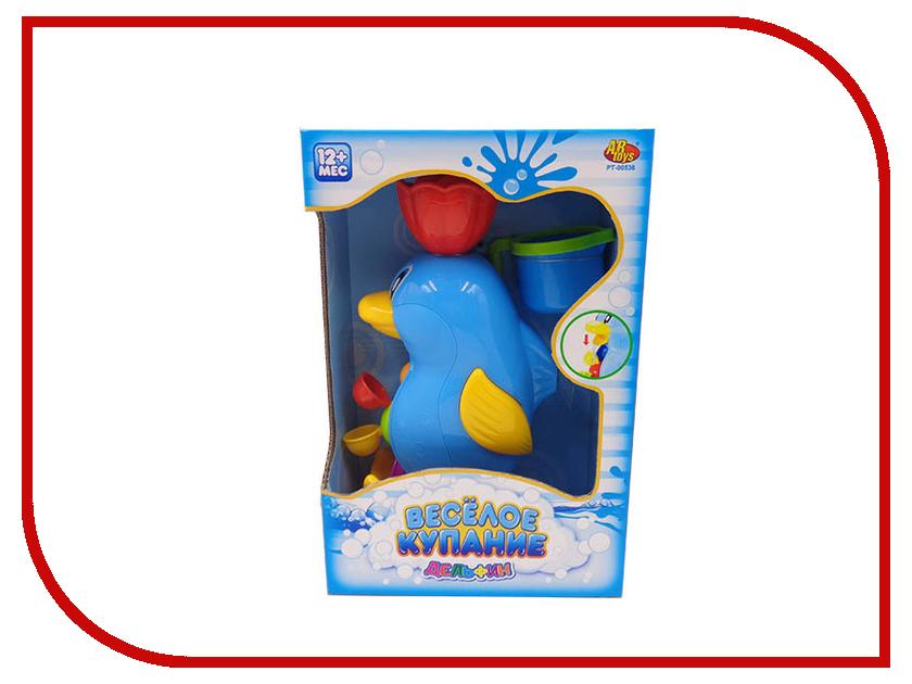 Игрушка ABtoys Веселое купание - Дельфин-мельница PT-00536 игрушка abtoys веселое купание катер брызгалка pt 00518