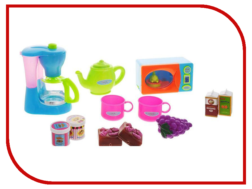 Игра ABtoys Кухонная техника с продуктами Помогаю маме PT-00480 abtoys помогаю маме кухонная техника эл мех свет звук pt 00665 wk c0310